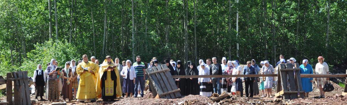 Строительство монашеского корпуса